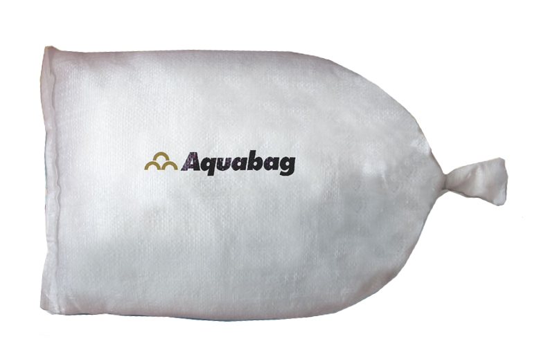 Aquabag fully inflated