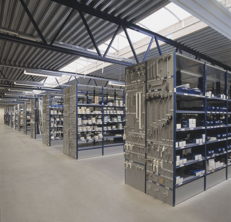Plumbing Store Shelves